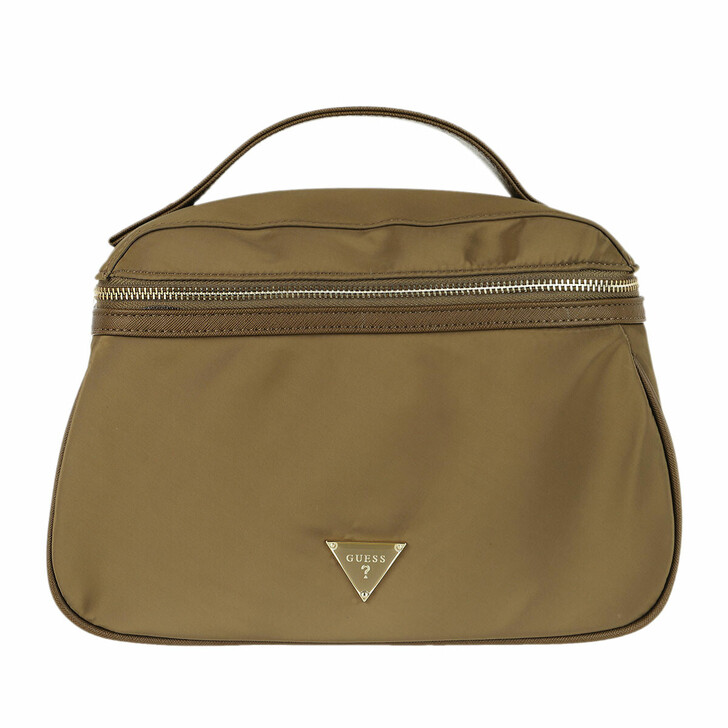 necessaires, Guess, Did I Say 90s Large Beauty Bag Military