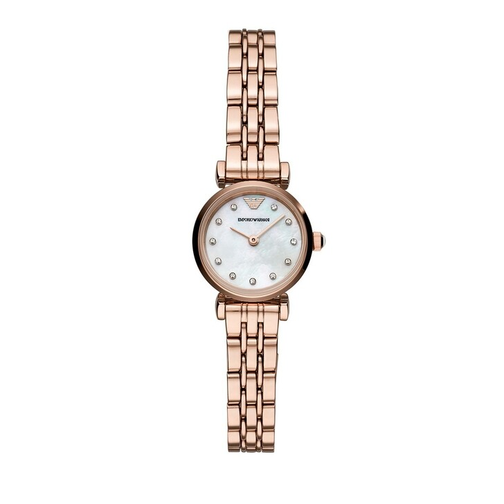 Uhr, Emporio Armani, Women's Two-Hand Stainless Steel Watch Rose Gold