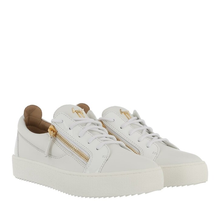 Schuh, Giuseppe Zanotti, Birel Vague Sneaker White