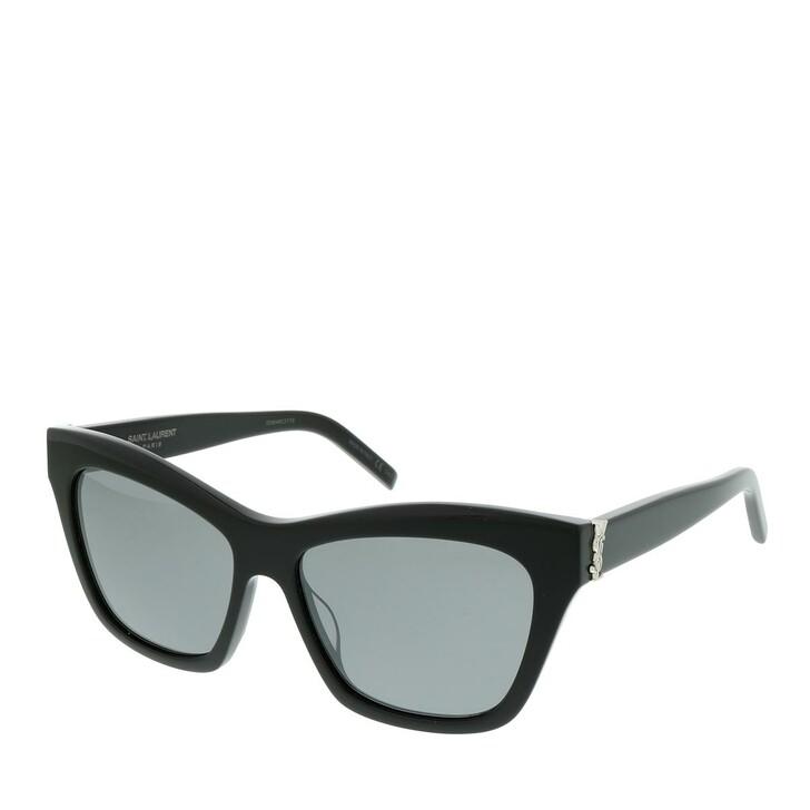 Sonnenbrille, Saint Laurent, SL M79-001 56 Sunglasses Woman Black