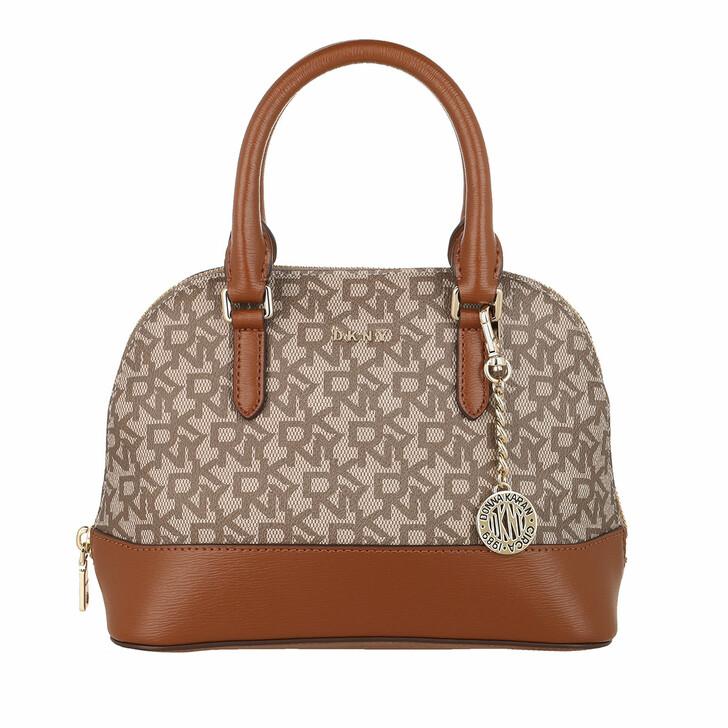 Handtasche, DKNY, Bryant Dome Satchel Chino/Crml
