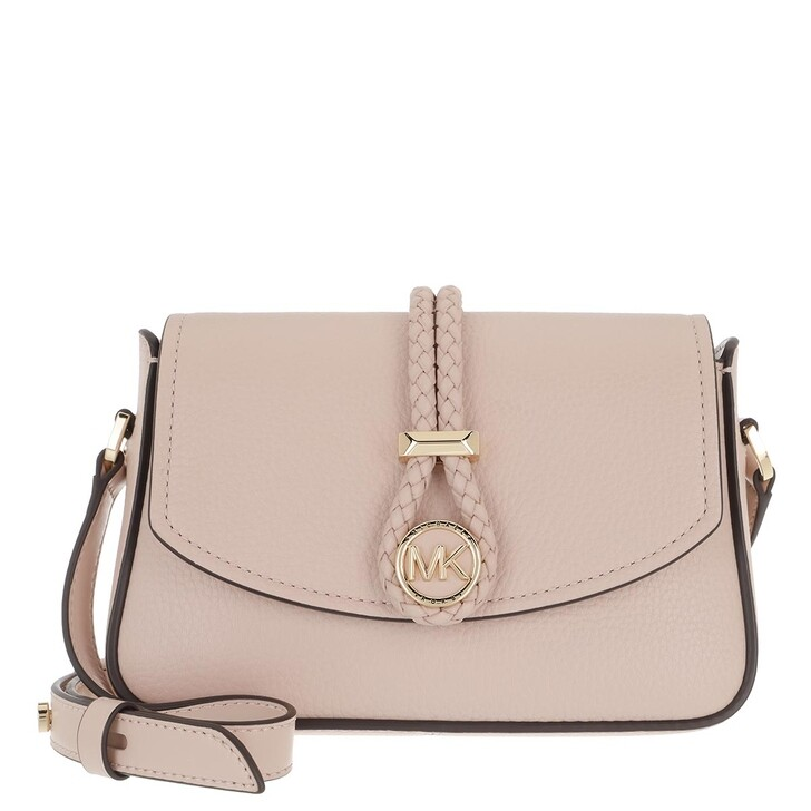 Handtasche, MICHAEL Michael Kors, Small Flap Xbody Handbag  Leather Soft Pink