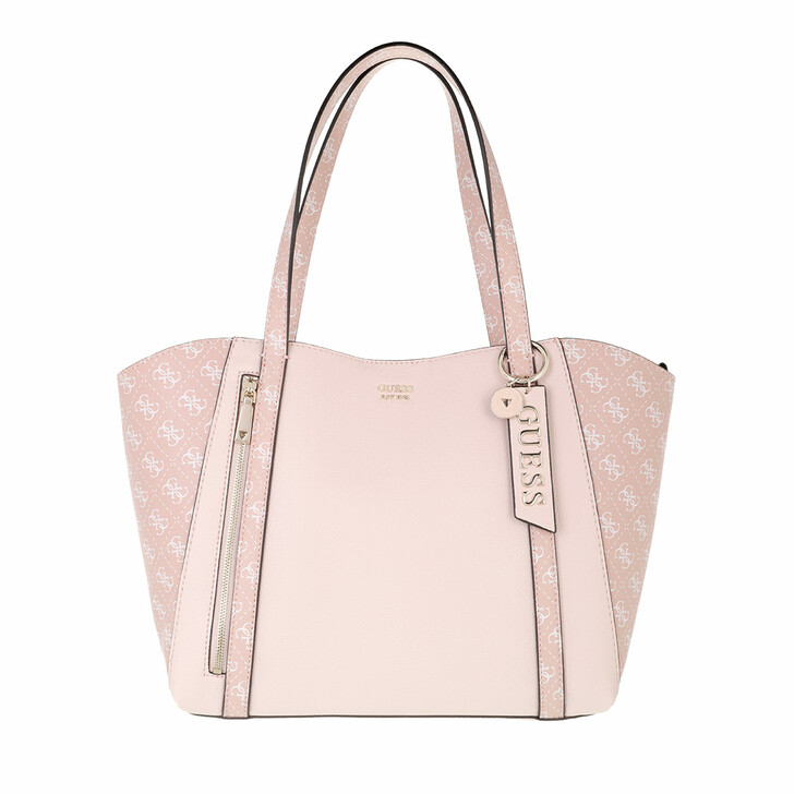 bags, Guess, Naya Trap Tote Rose Multi