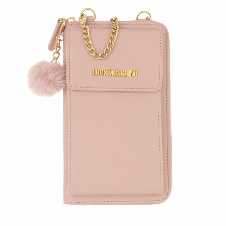 wallets, Love Moschino, Portafogli Pu  Rosa