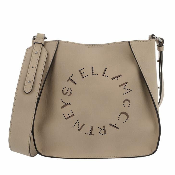 bags, Stella McCartney, Mini Crossbody Bag Embossed Eco Alter Nappa Camel