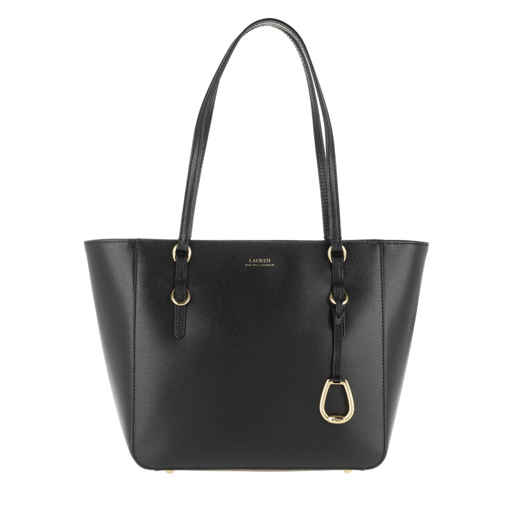 Handtasche, Lauren Ralph Lauren, Shopper Shopper Medium Black