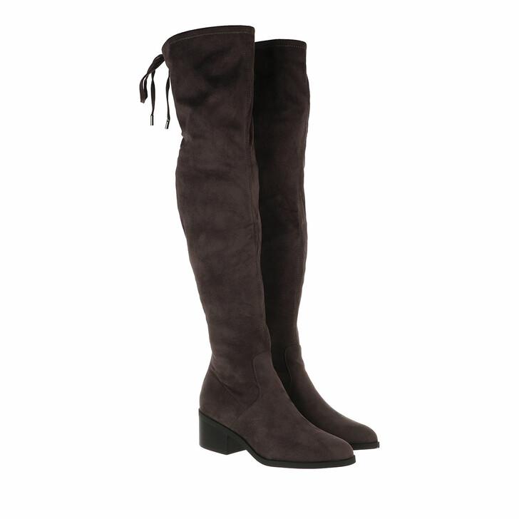 Schuh, Steve Madden, Gerardine Boots Microsuede Grey
