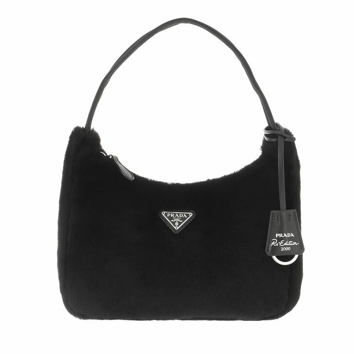 bags, Prada, Re Edition 2000 Mini Bag Black