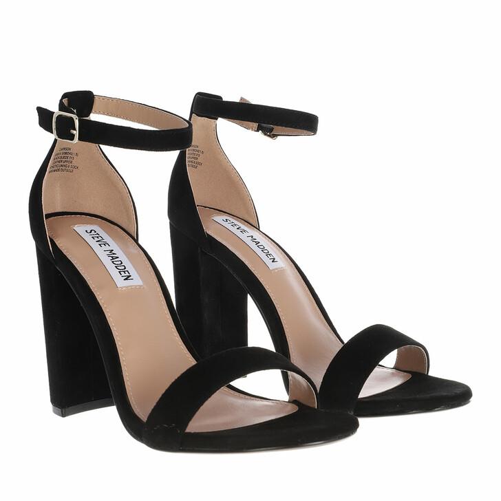 shoes, Steve Madden, Carrson Sandal Suede Black
