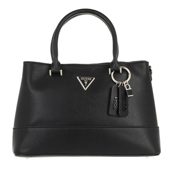bags, Guess, Cordelia Luxury Satchel Black