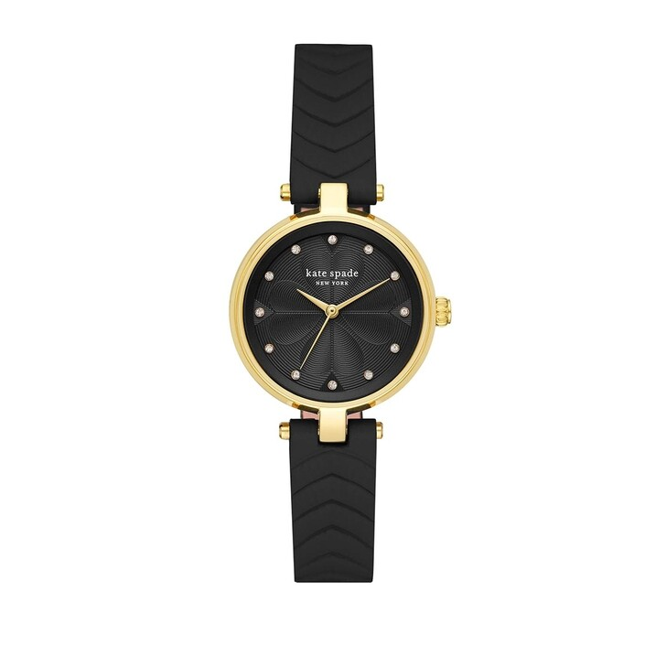 watches, Kate Spade New York, KSW1546 Annadale Quilted Watch Gold