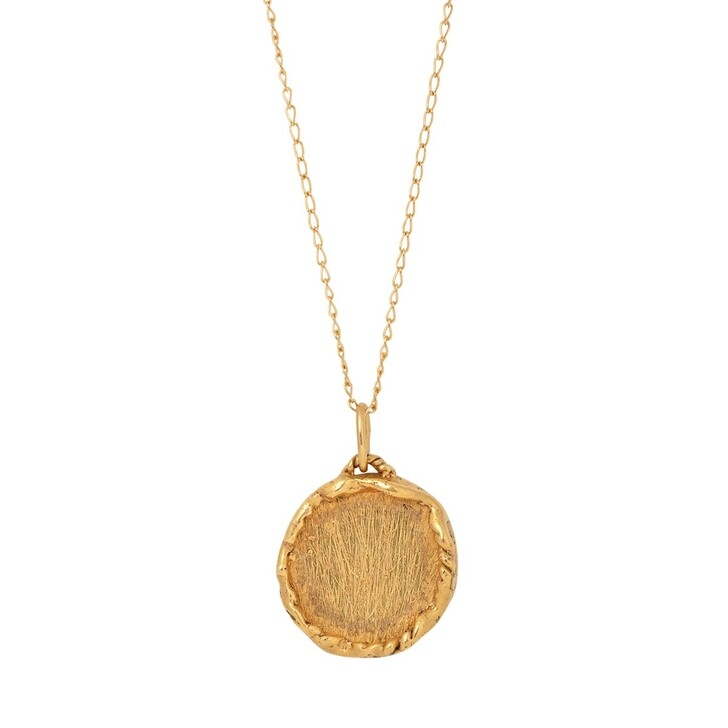 necklaces, Released From Love, Classic Coin Necklace Gold Vermeil