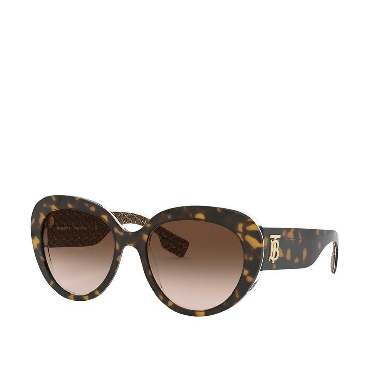 sunglasses, Burberry, 0BE4298 Top Dark Havana On Brown