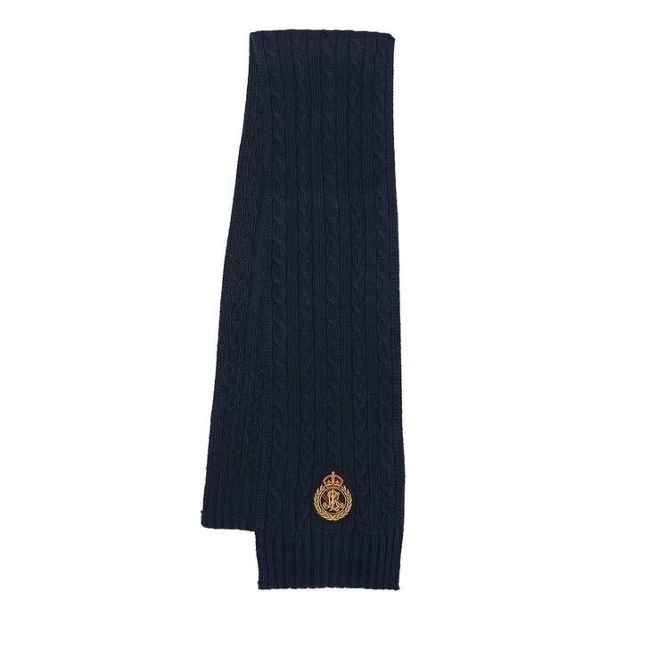 scarves, Ralph Lauren, Scarf Oblong Navy