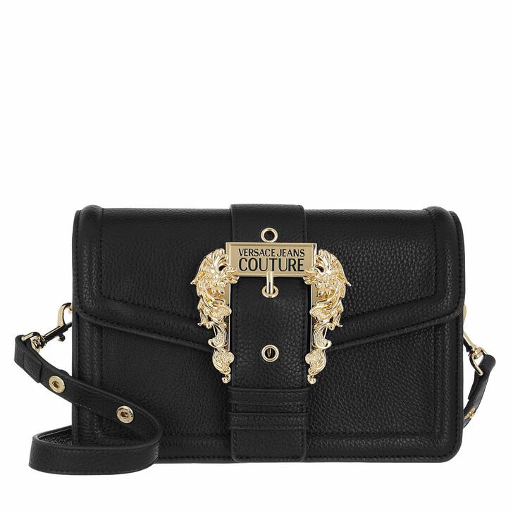 bags, Versace Jeans Couture, Shoulder Bag Black