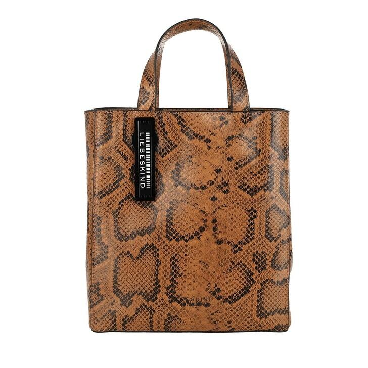 Handtasche, Liebeskind Berlin, Paper Bag S Caramel