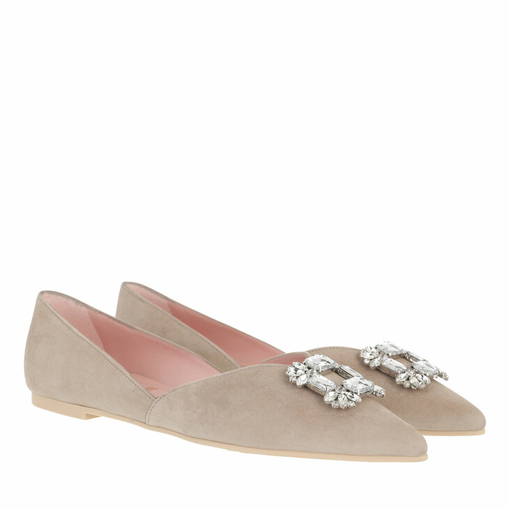 Schuh, Pretty Ballerinas, Ella Ballerina Shoes Beige