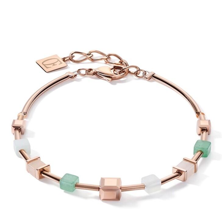 bracelets, COEUR DE LION, Bracelet Green-Beige