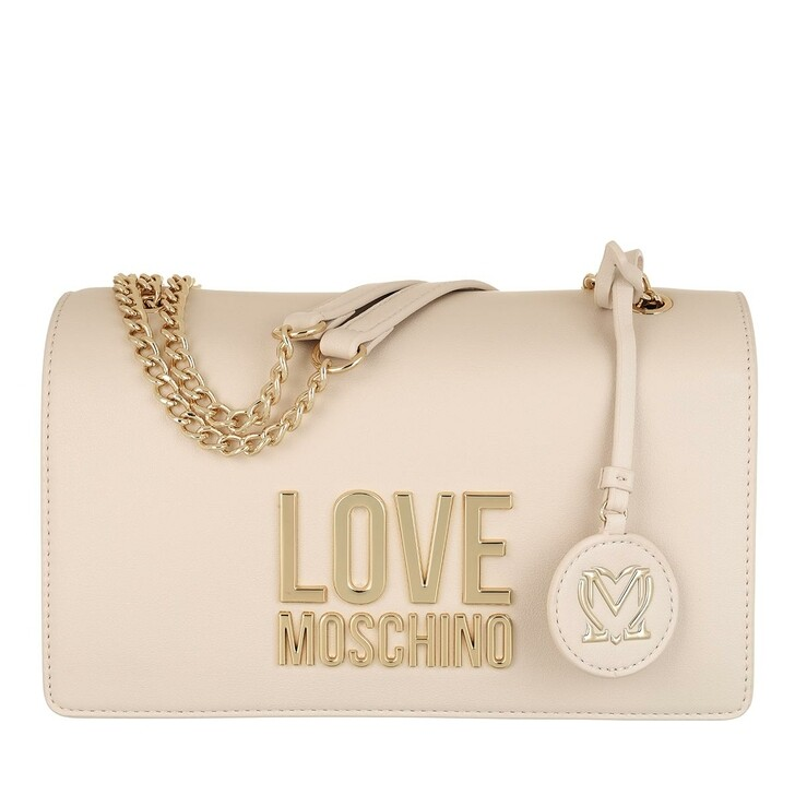 Handtasche, Love Moschino, Borsa Bonded Pu  Avorio