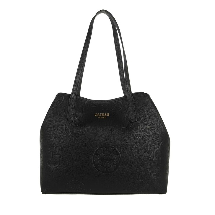 bags, Guess, Vikky Tote Black