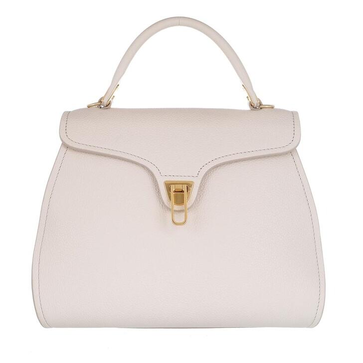 Handtasche, Coccinelle, Marvin Satchel Bag Lambskin White