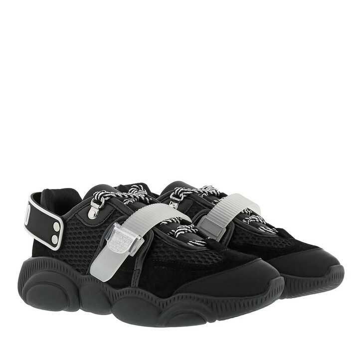 shoes, Moschino, Sneakers Orso30 Mix Nero