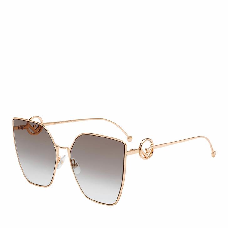 Sonnenbrille, Fendi, FF 0323/S Gold Copp