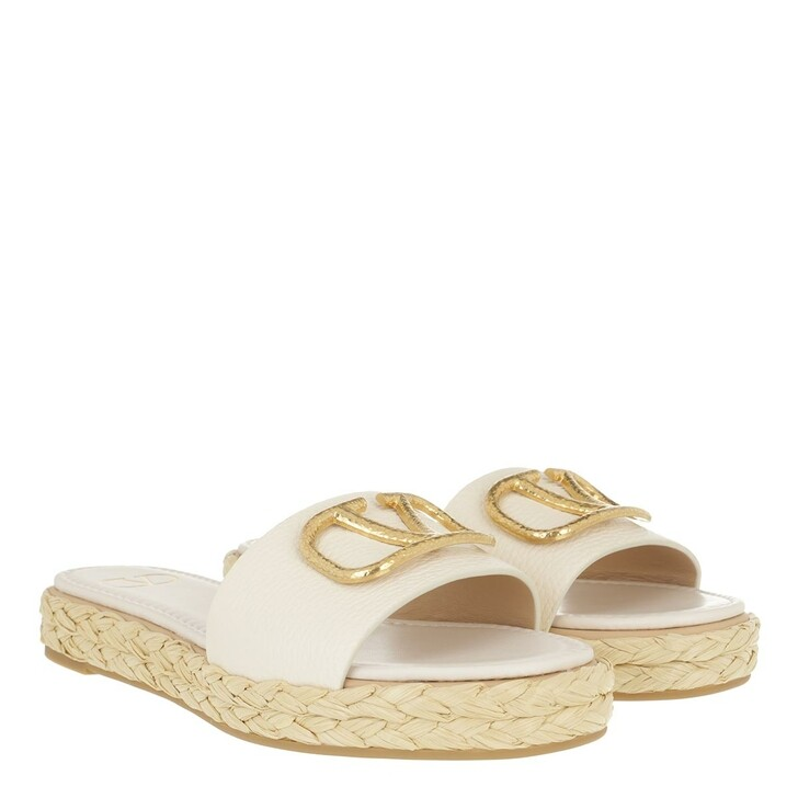Schuh, Valentino Garavani, Espadrilles Light Ivory