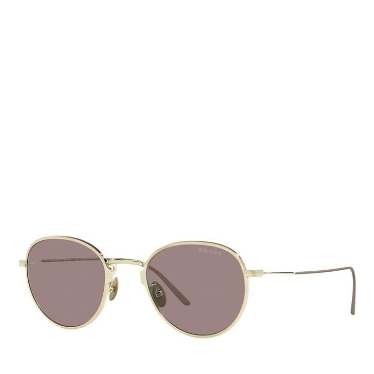 Sonnenbrille, Prada, 0PR 53WS Satin Pale Gold