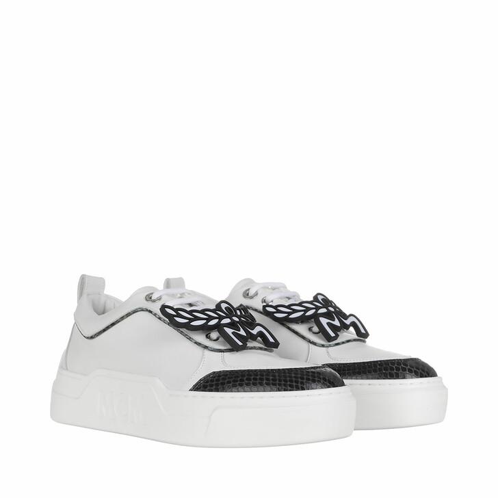 Schuh, MCM, LT Skyward Platform Sneaker Python White