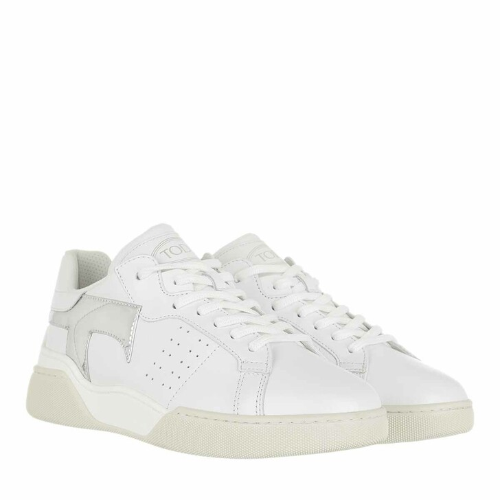 shoes, Tod's, Low Top Sneakers Leather White