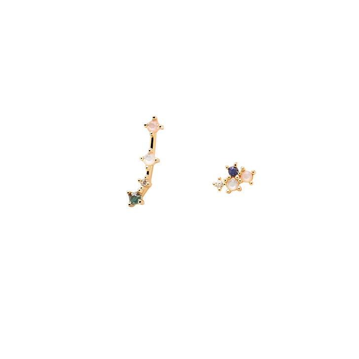 earrings, PDPAOLA, Earrings ARIES Yellow Gold