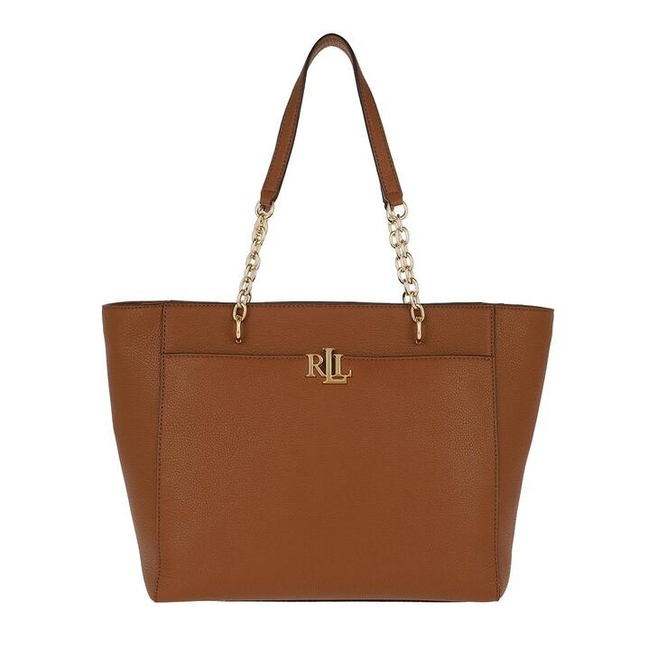 bags, Lauren Ralph Lauren, Langdon Medium Tote Bag Lauren Tan