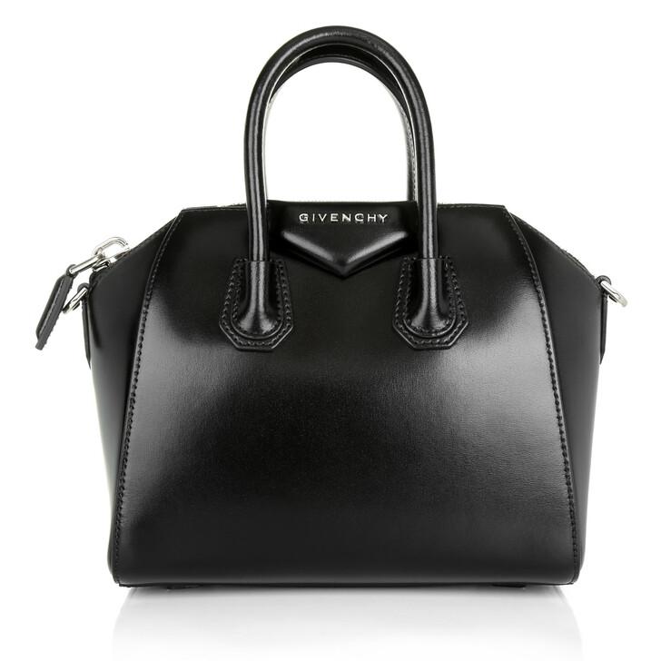 bags, Givenchy, Antigona Mini Bowling Bag Black