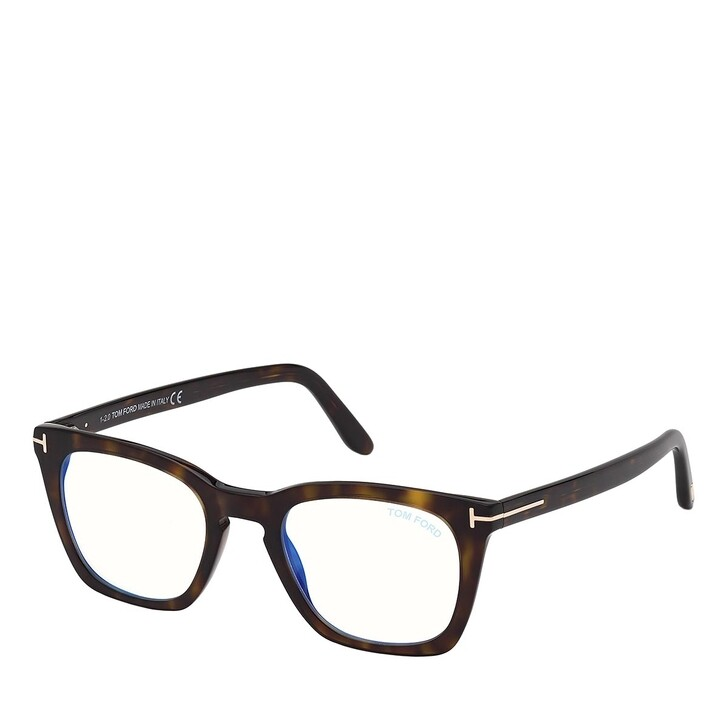 Brillen mit Gläsern, Tom Ford, Blue Blocker FT5736-B Havanna