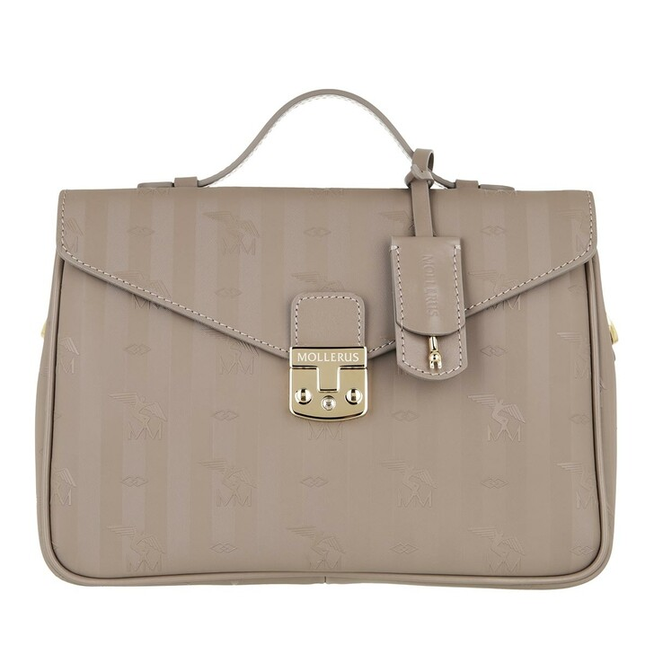 bags, Maison Mollerus, Crossover  Taupe Gold