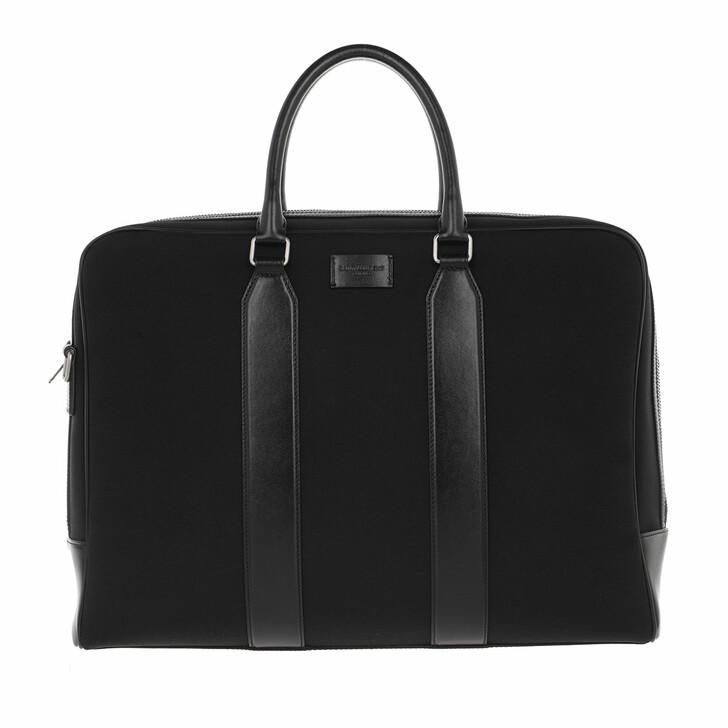 Handtasche, Saint Laurent, Men Messenger Bag Black