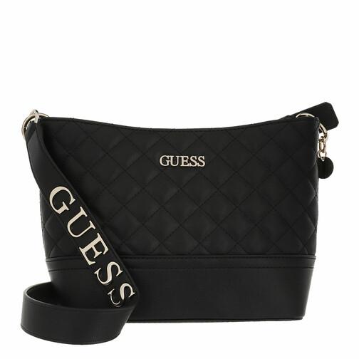 guess -  Beuteltasche - Illy Bucket - in schwarz - für Damen