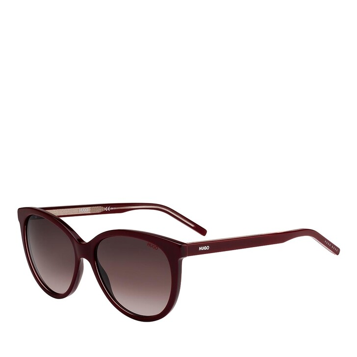 Sonnenbrille, Hugo, HG 1006/S BURGUNDY PINK