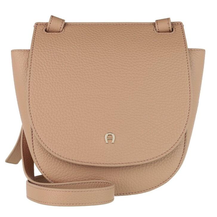 Handtasche, AIGNER, Selma Handle Bag Cashmere Beige