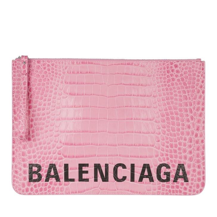 Handtasche, Balenciaga, Clutch Pink Black