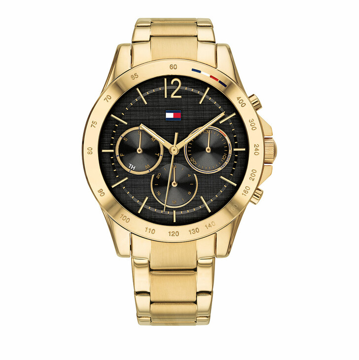 watches, Tommy Hilfiger, Watch Casual Gold