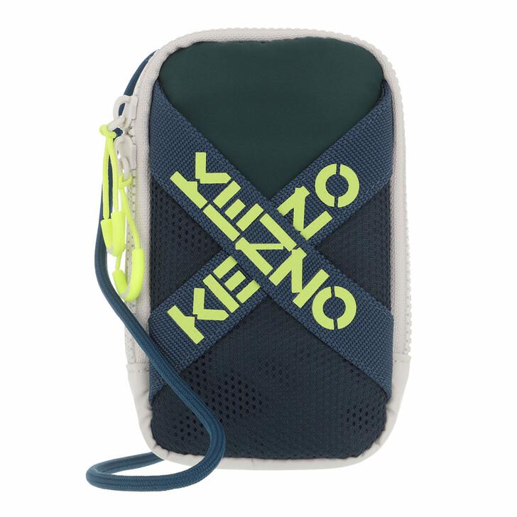 bags, Kenzo, SLG Crossbody Pale Grey
