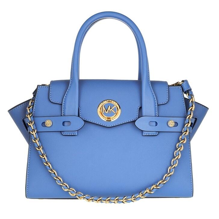bags, MICHAEL Michael Kors, Carmen Small Flap Satchel Handbag  Leather Sth Pacific