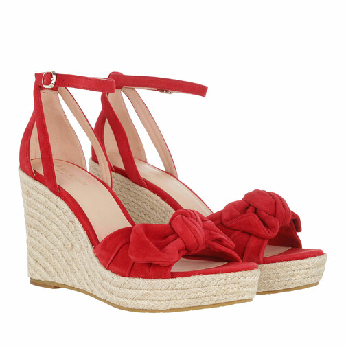 kate spade new york -  Sandalen & Sandaletten - Tianna Wedges - in rot - für Damen