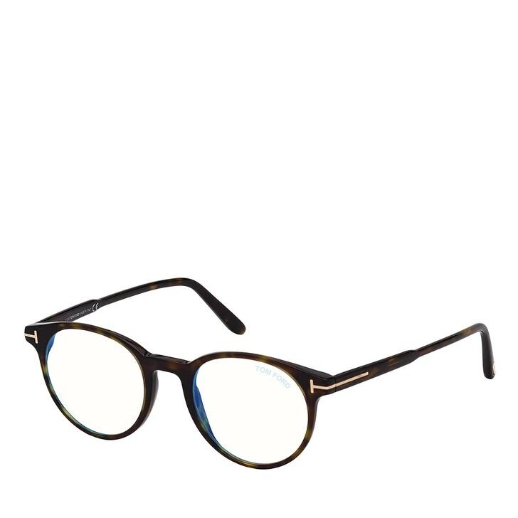 Brillen mit Gläsern, Tom Ford, Blue Blocker FT5695-B Havanna