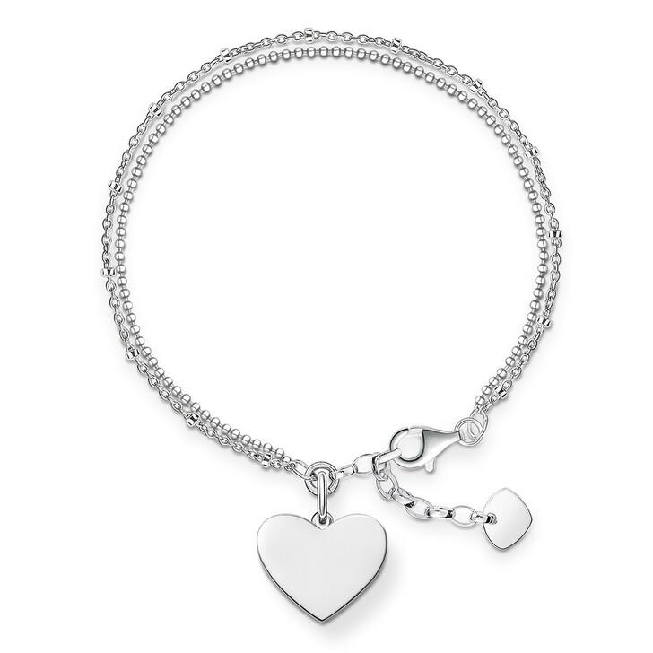 bracelets, Thomas Sabo, Bracelet Heart Silver