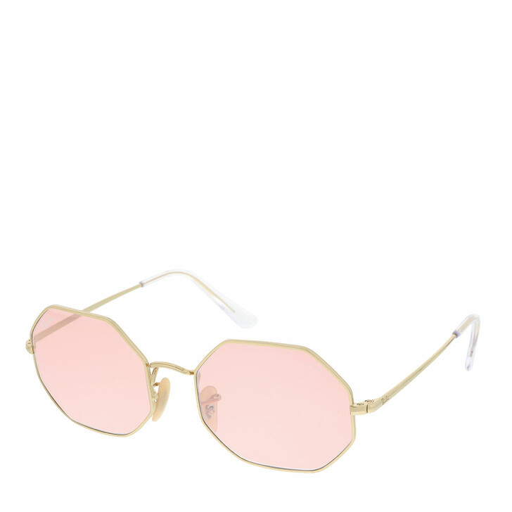Sonnenbrille, Ray-Ban, 0RB1972 001/3E Unisex Sunglasses Icons Shiny Gold