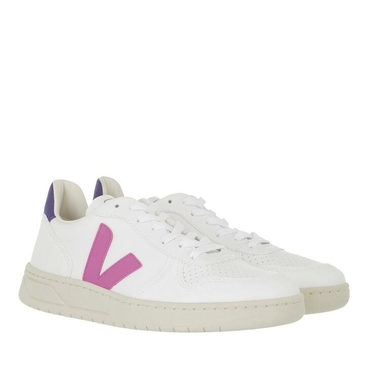 shoes, Veja, V-10 Cwl  White Ultraviolet Purple