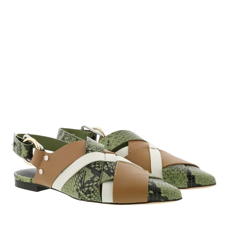 shoes, 3.1 Phillip Lim, Deanna Woven Pointy Flat Multi